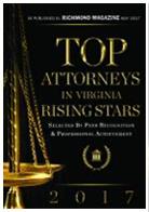 2017 Top Attorneys Rising Stars Award