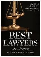 2020 Best Lawyers in America Award